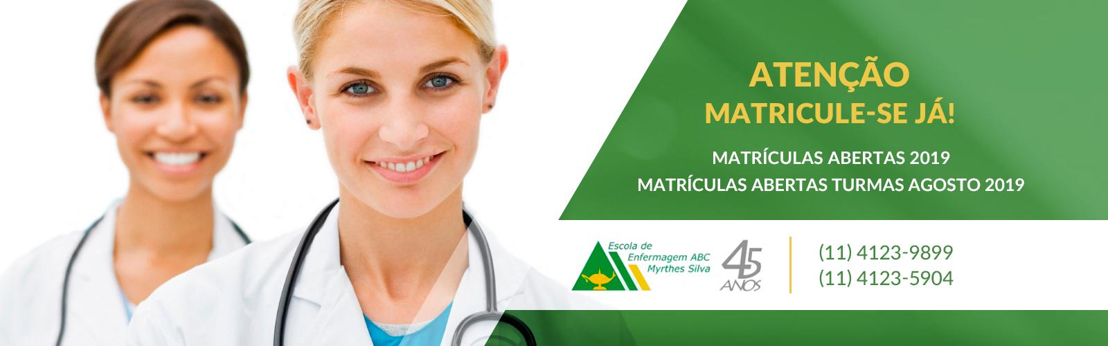 Enfermagem ABC Matrículas Abertas